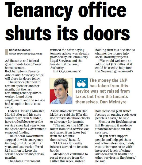 Rocky Closure newspaper paper (2)